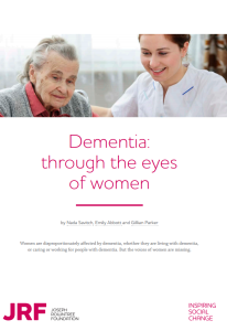 dementia women report