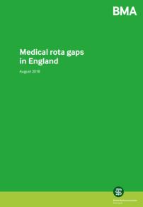 Medical rota gaps