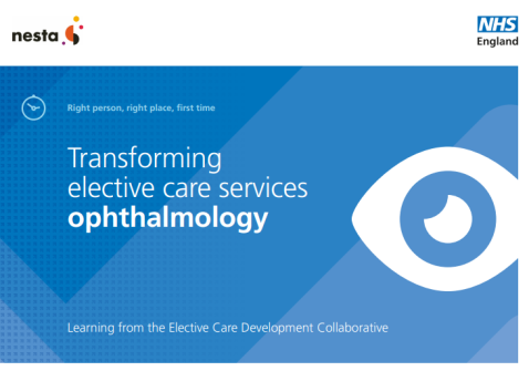 nhs england ophthalmology